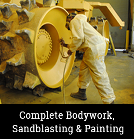 bodywork sandblasting painting