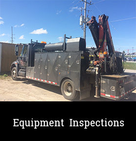 equipment inspection